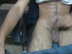 Hot Indian Boy Teases with his cock out