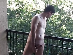 Jerking outside