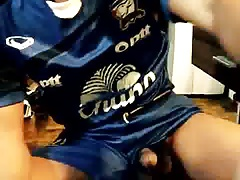 Asien Twink cumshot on T-Shirt