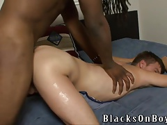 Cute Twink Jordan Pierce Goes Black