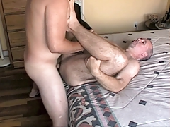 Young Stud Cums in Ronnie's Mancunt