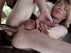 Cute Teen Gets Filled With Monster Black Cock