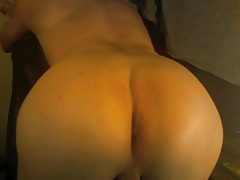 Femboy with very smooth ass on webcam