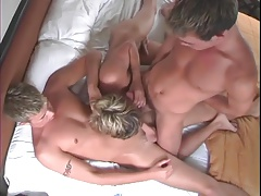 3 Cute Blonde Guys