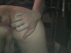 Stretching my twink asshole