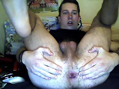 Netherlands,Handsome Boy Fucking Ass With 3 Fingers,Big Cock