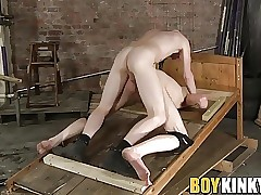 Ass fingering and whipping for tight ass Casey O'Connel