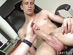Thomas Fiaty - Handjob in Our Office