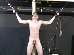 BDSM young slave boy whipped and crucified schwule jungs